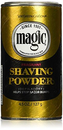 SoftSheen-Carson Magic Fragrant Shaving Powder, 4.5 oz - Magic Shave Shaving Powder
