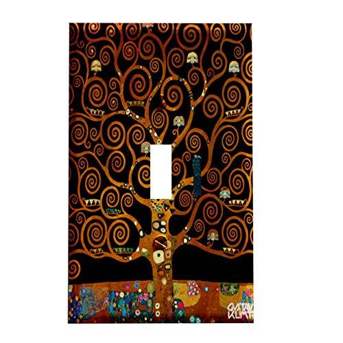 Gustav Klimt Under the Tree of Life Switchplate - Art Nouveau Switch Plate Cover - 1 toggle