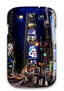 Case Cover Times Square Night/ Fashionable Case For Galaxy S3