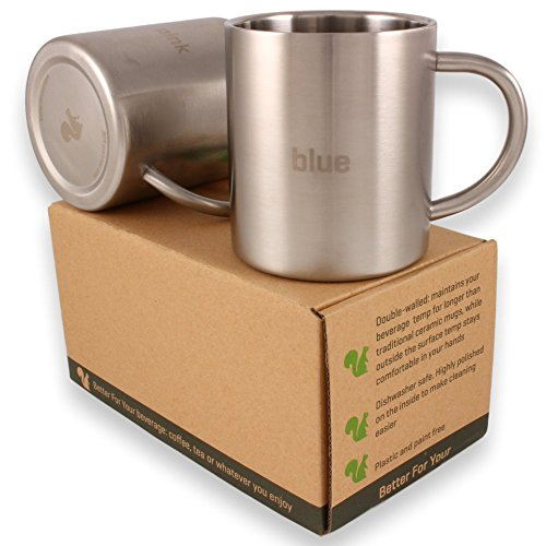 coffee travel mug gift set - 9
