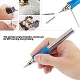 Engraving Pen, Rechargeable Handheld Electric Engraving Pen Polishing Jade Wood Engraver Grinding Tool