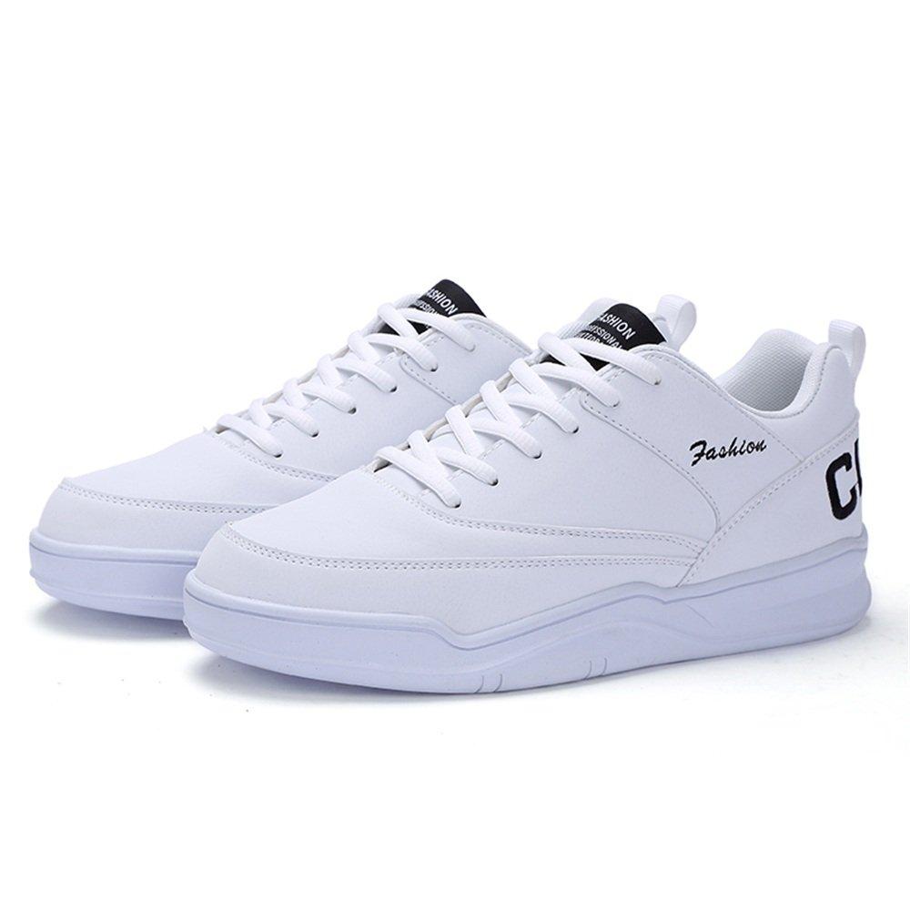 Zapatillas de Deporte de Moda con tacón Plano para Hombre 43 EU|Blanco