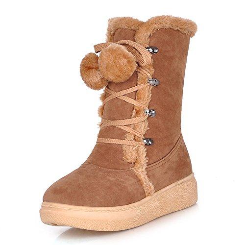 Fashion HeelSnow Boots - Botas de nieve mujer amarillo