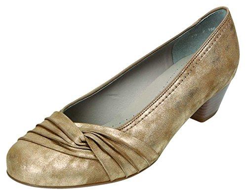 Jenny - Zapatos de vestir para mujer beige jute Weite H jute Weite H