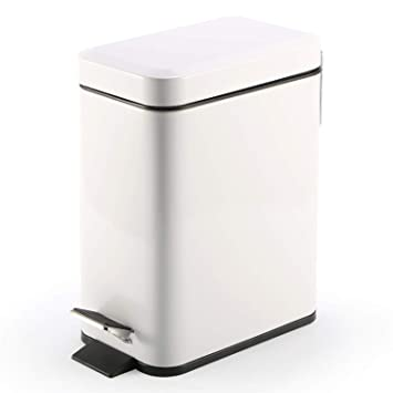 Amazoncom Topgalaxyz Kitchen Trash Bin Waste Can 5 Liter132