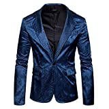 MAGE MALE Men's Floral Luxury Party Dress Suit Stylish Dinner Jacket Wedding Blazer Prom Tuxedo