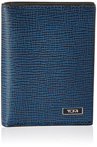 TUMI Men's Monaco Gusseted Card Case with (Leather Gusseted Card Case)