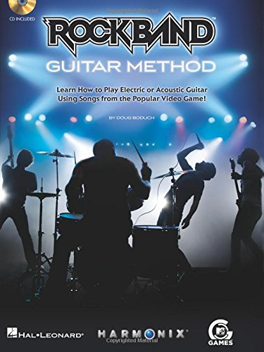 Rock Band Guitar Method - Book/CD (Transitions Console Entertainment)