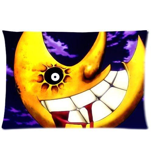 Custom soft-home Decoración Anime japonés Soul Eater rectángulo Funda de almohada 50,8x 76,2cm (One Side)