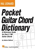 Pocket Guitar Chord Dictionary, Andrew DuBrock, 1423485017