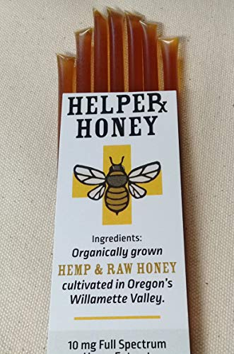 Full Spectrum Hemp Honey Sticks 7 Pack