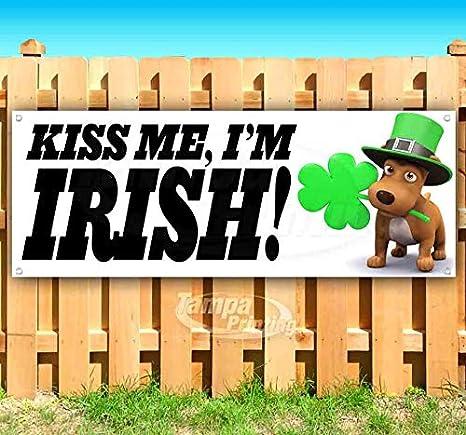 Amazon.com: Kiss Me IM - Cartel de vinilo irlandés de 13 ...
