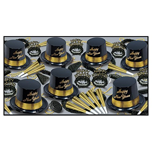 Goldr Legacy - Legend Black & Gold Party Assortment for 50 by ptm