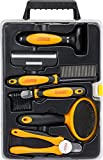 Pet Dog Cat Grooming Tools Kit Box Set By Friends Forever Dematting Deshedding Grooming Brush Comb Nail Trimmer Clipper Pet Grooming Supplies