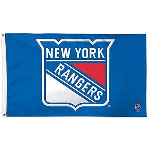 NHL New York Rangers Deluxe Flag, 3' x 5'