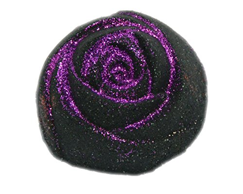 Black Rose Bath Bomb 5oz Scented w/ Love Spell Deep Black Chasm