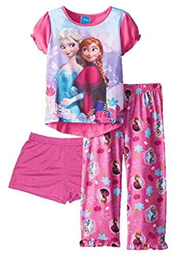 Frozen Girls Piece Pajama Size