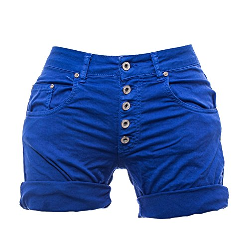 Azzurro Color Please Bermuda M07 P88 Shorts Donna 7ZHF4