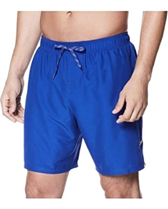 "a952c74127d1c Image Unavailable. Image not available for. Color: Nike Men's Swim Vital  7"" Volley Short Large Blue"