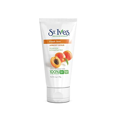 ST. Ives Fresh Skin Apricot Face Scrub, 170g Facial Scrubs & Polishes at amazon