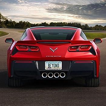 Chevy Corvette Red License Plate Frame