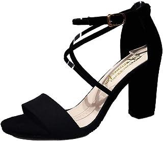 Vovotrade Sandali Donna 312 Estate Moda Casual Tacco Alto Sandali Scarpe da Ballo da Festa per Signora