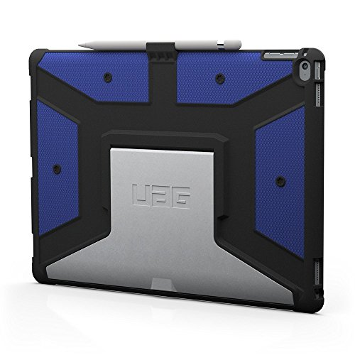 UAG iPad Pro 12.9-inch (1st Gen, 2015) Feather-Light Rugged [Cobalt] Aluminum Stand Military Drop Tested iPad Case