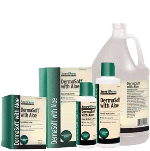 110 Part# 110 - Lotion Skin Care Dermasoft With Aloe Hand And Body 4oz 96/Ca By Ameriderm Laboratories ()