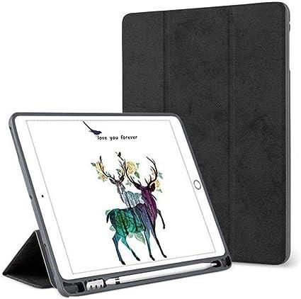 Estuche Retro Ultrafino para Nuevo iPad Mini 5 iPad Mini 5 TH 7.9 Pulgadas 2019 Funda con Funda de lápiz para Estuche iPad Mini 4-Negro: Amazon.es: Informática
