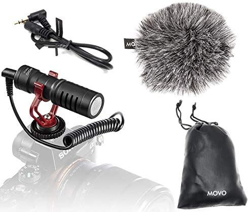 Movo VXR10 Microphone Windscreen Smartphones product image