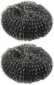 8pc Heavy-Duty ALAZCO Steel Wool BBQ Grill Cleaner Pads Kitchen Sink Pots /& Pans Scrubbers X-Large