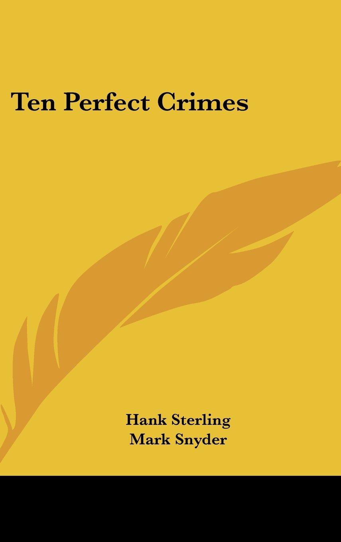 Ten Perfect Crimes ebook