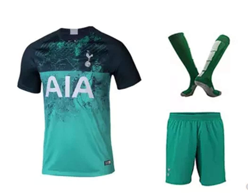 pretty nice 4c3c2 fb2a7 Amazon.com: LISIMKE Soccer Team Tottenham Hotspur Away ...