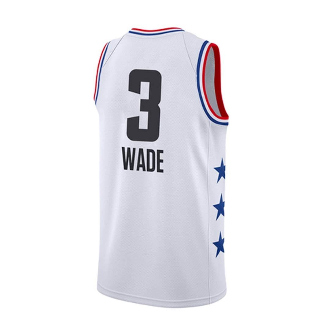 Jjzhb Camiseta de Baloncesto Dwyane Wade 13# NBA Global Star, NBA ...