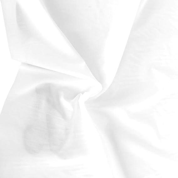 creme weißer sommerlicher Baumwoll-Batist für Bluse Kleid Deko Meterware Tolko