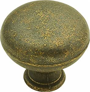 Hickory Hardware PA1218-WOA 1-1/4-Inch Oxford Antique Knob, Windover Antique