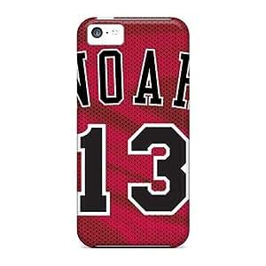 linJUN FENGJamesler Fashion Protective Chicago Bulls Case Cover For ipod touch 5