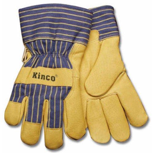 Pigskin Grain (KINCO INTERNATIONAL 1928 L Men's Grain Pigskin Leather Palm Glove, Large)
