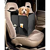 Car Seat Pets, Finelife Small Portable Travel Folding Booster Pet Seat