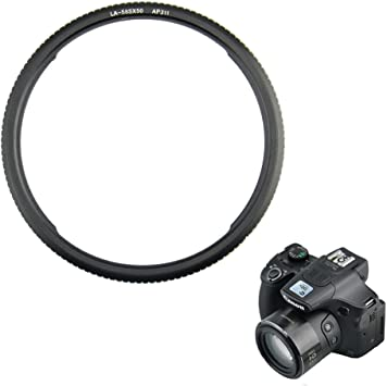 58mm Mount Adapter Lens Filter Ring For Canon PowerShot SX60 SX520 HS Camera