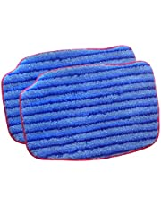 McCulloch A1375-101 Replacement Scrubbing Microfiber Mop Pad for MC1375, MC1385, 2-Pack