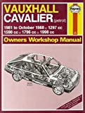 img - for Vauxhall Cavalier 1981-88 Owner's Workshop Manual by I. M. Coomber (1989-09-07) book / textbook / text book