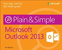 Microsoft Outlook 2013 Plain & Simple Front Cover