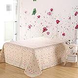 cotton sheets/Single printed fresh style sheets-O 230x250cm(91x98inch)