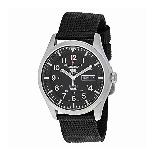 Seiko-Mens-SNZG15-Seiko-5-Automatic-Stainless-Steel-Watch-with-Nylon-Strap