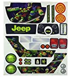 Teenage Mutant Ninja Turtles Jeep Wrangler Label Sheet (CHM44-0310)