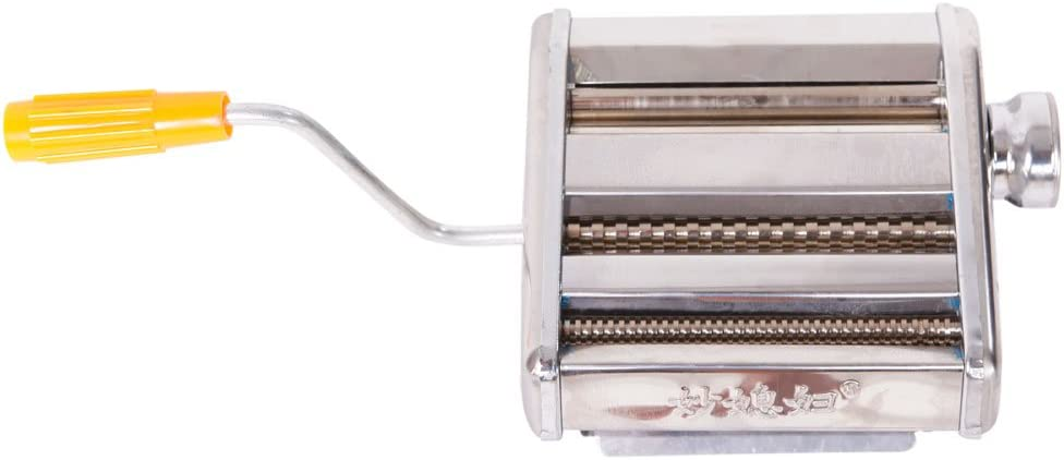 Dual-blade Multifunctional Manual Hand-cranking Operation Stainless Steel Noodle Making Machine Ship From USA Warehouse Ship From USA Warehouse