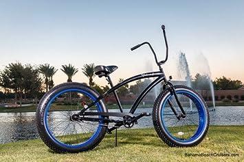 Fat Tire Cruiser Bike Beach Sand Cruiser All Terrain Single