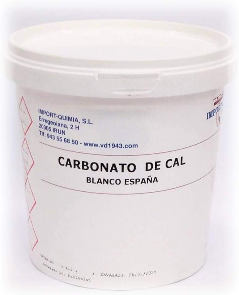 CARBONATO DE CAL -BLANCO ESPAÑA- 1,4 KG.: Amazon.es: Belleza