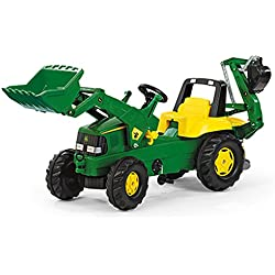 Rolly John Deere Backhoe Loader Ride On